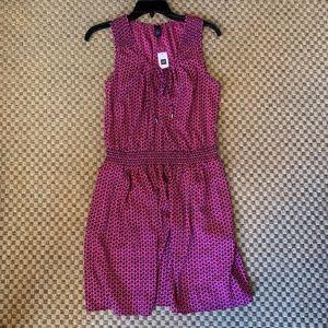 NWT pink gap dress